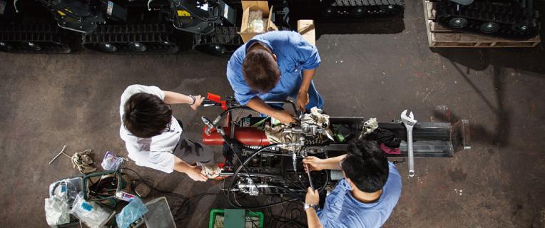 作業機械の点検・整備と修理