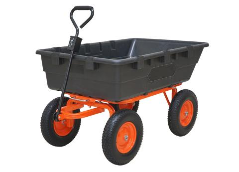 PLOW 運搬用ダンプカート Lサイズ DUMP-CART-L