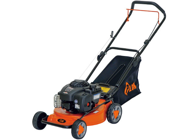 PLOW 手押し式 エンジン式芝刈り機 GC410