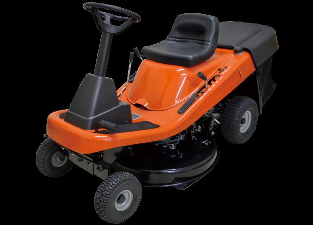 PLOW エンジン式 乗用芝刈り機 RGC760 HST 油圧無段変速